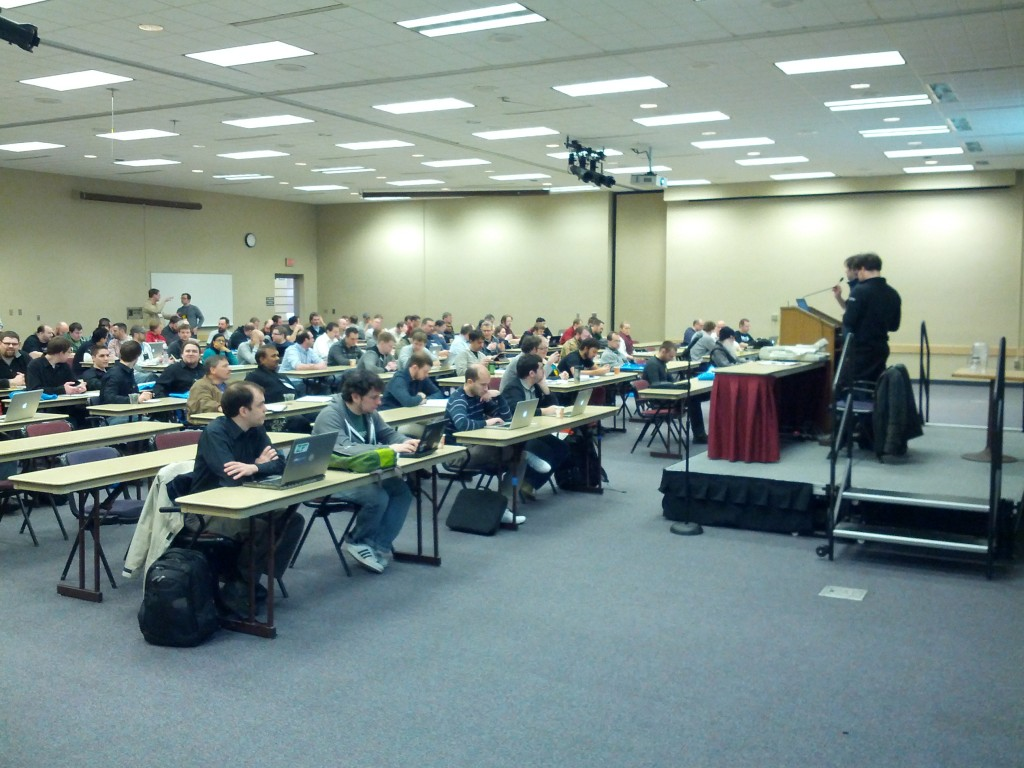 A great group of people at Midwest PHP